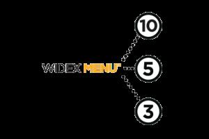 Widex Menu rješenje