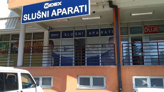 Widex Banja Luka ured spolja