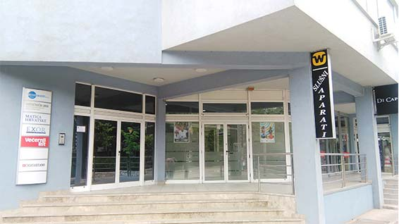 Widex Mostar ured spolja