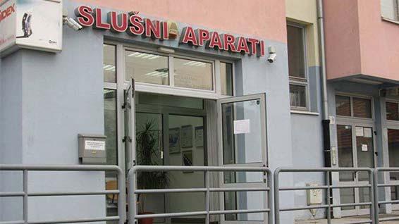 Widex Tuzla ured spolja